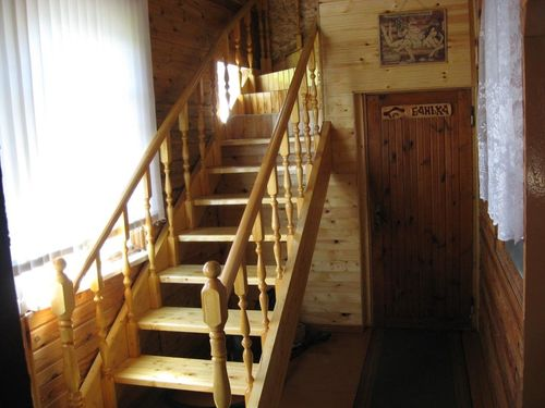 Какая должна быть лестница в бане