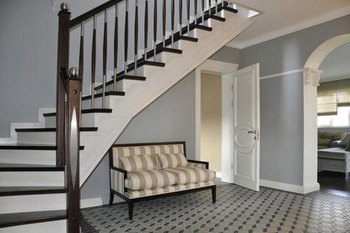 Как сделать лестницу в американском стиле