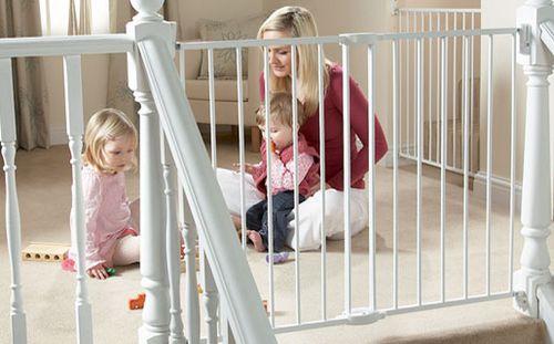 Как сделать ворота безопасности от детей своими руками фото 730