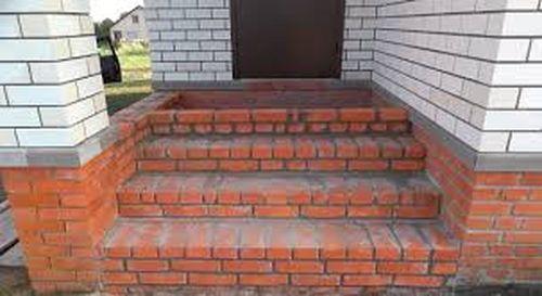 Лестница из кирпича своими руками фото 711