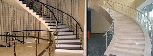 Какими бывают спиральные лестницы в доме