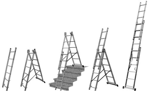 Выбираем алюминиевую трехсекционную лестницу 3х10 ступеней