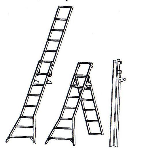 Какие лестницы 12 метров бывают: обзор