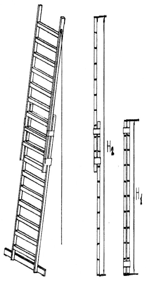 Обзор про переносные лестницы: виды и особенности