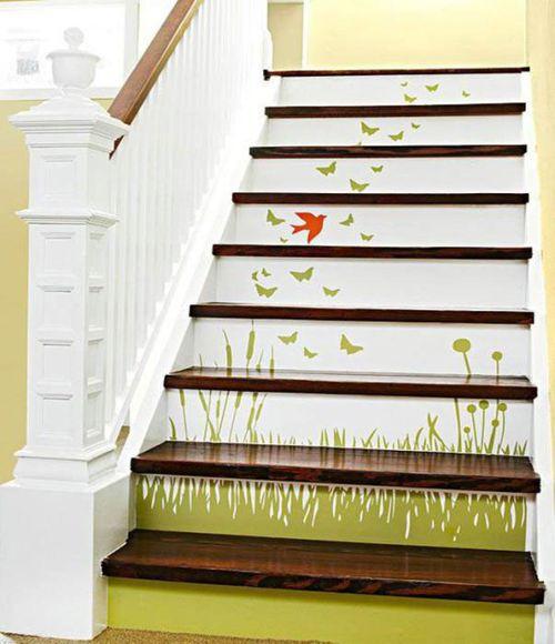 Способы как украсить лестницу в различных ситуациях