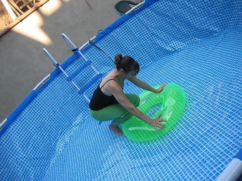 Лестница для бассейна своими руками из пластиковой трубы 33