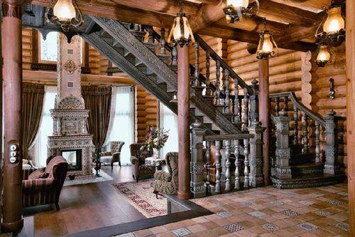Особенности дизайна лестницы в стиле барокко