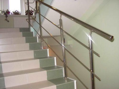 Как изготовить поручни из нержавейки для лестницы