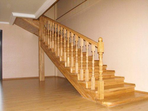 Как красиво сделать перила на лестнице