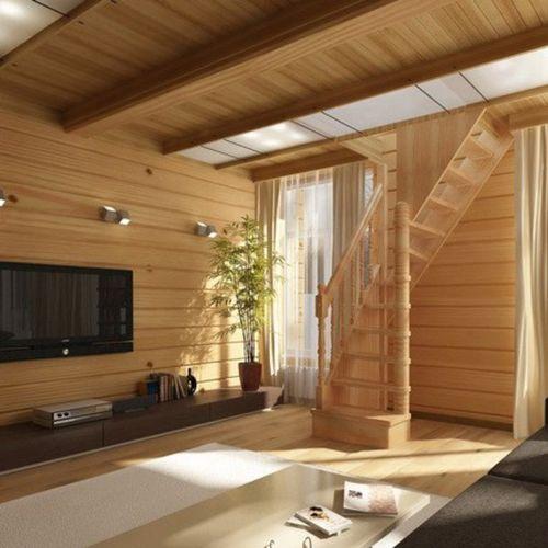 Особенности конструкции лестницы Лес 91