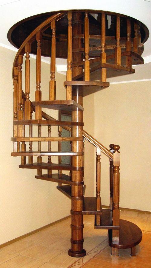 Какими бывают круглые лестницы: виды, материалы, особенности