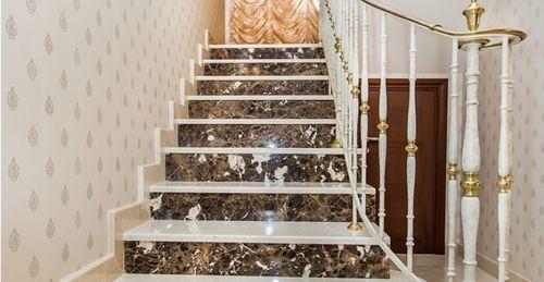 Все про лестницы из камня — виды материалов для отделки