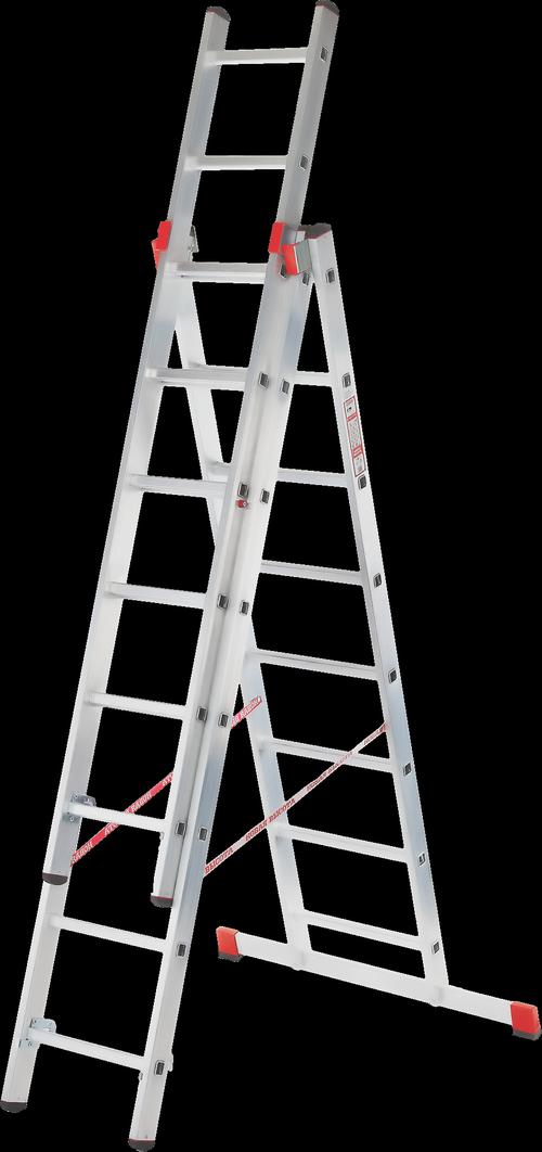 Какие бывают четырехсекционные лестницы: виды и особенности