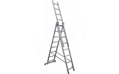 Разновидности моделей трехсекционных лестниц 3х9