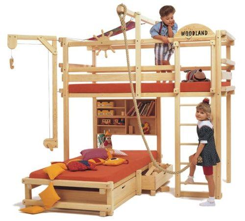 Делаем лестницу для двухъярусной кровати своими руками  