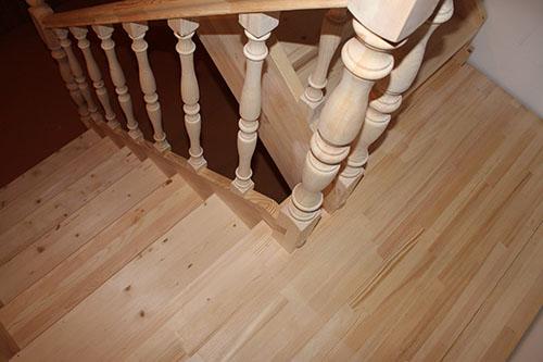 Особенности выбора породы дерева для лестницы