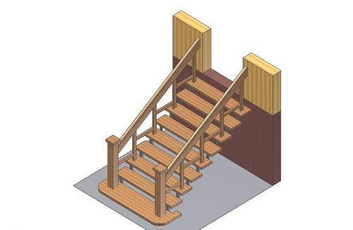 Чертеж лестницы на крыльцо