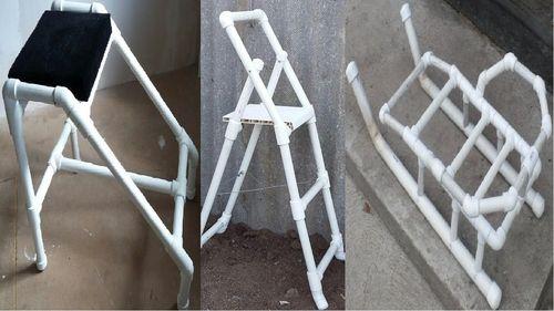 Инструкция по монтажу лестницы из пластиковых труб