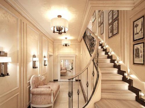 Варианты оформления лестницы со светодиодной подсветкой