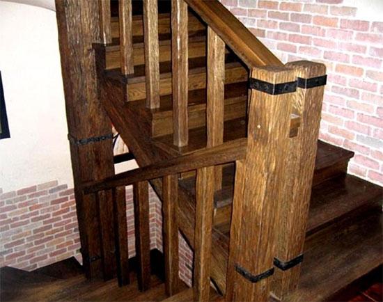 Как создать лестницу в стиле ретро