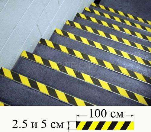 Как выбрать и наклеить противоскользящую ленту на ступени