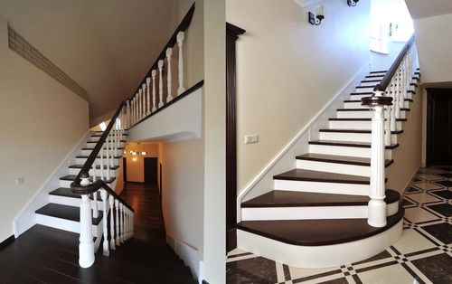 Обычные маршевые лестницы