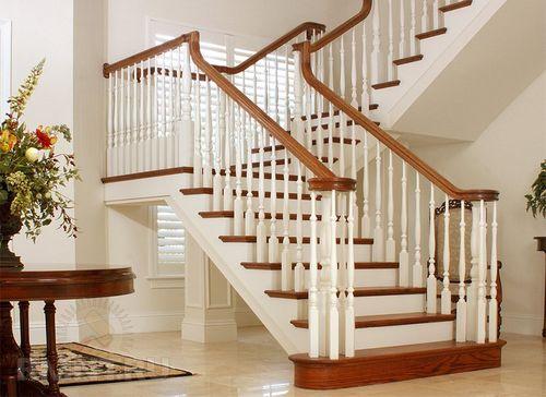 Красивая покраска лестницы