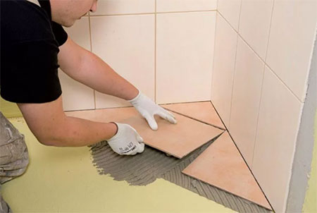 Популярные способы укладки плитки