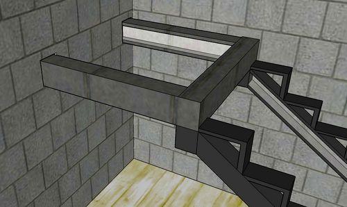 Строим лестницу из уголка и швеллера