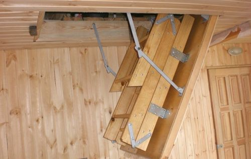 Как строить потайные лестницы в доме