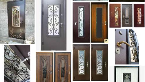 Всё о выборе дверей с ковкой и стеклом