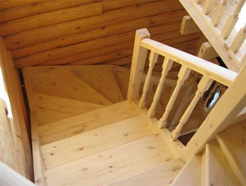 Плюсы и минусы лестницы из хвои