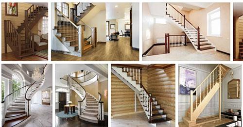 Популярные виды лестниц для дома