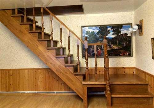 Выбираем материал для деревянных лестниц